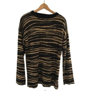 Lovers + Friends Tiger Print Sweater
